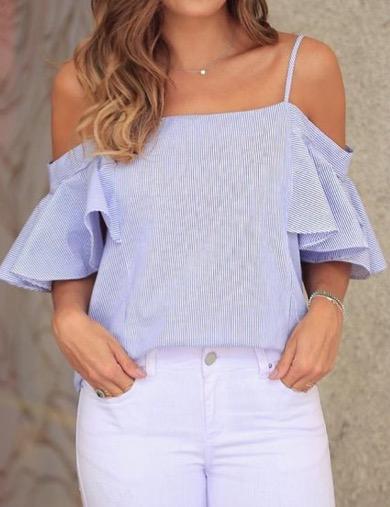Blusas para mujer Limonni LI302 Campesinas