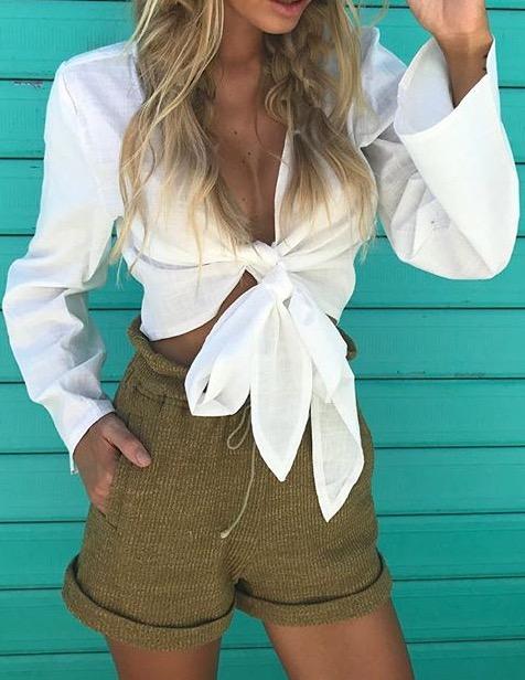 Blusas para mujer Limonni LI303 Tops