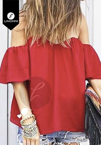 Blusas para mujer Limonni LI957 Campesinas