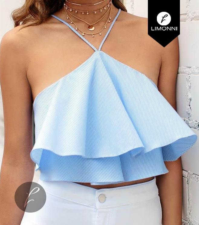 Blusas para mujer Limonni Bennett LI1137 Tops