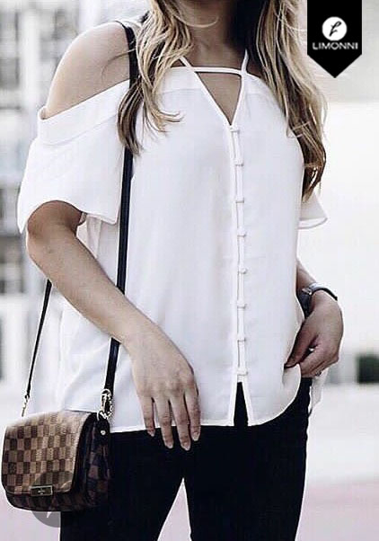 Blusas para mujer Limonni Bennett LI1139 Campesinas
