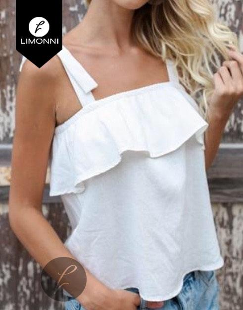 Blusas para mujer Limonni Bennett LI1149 Basicas