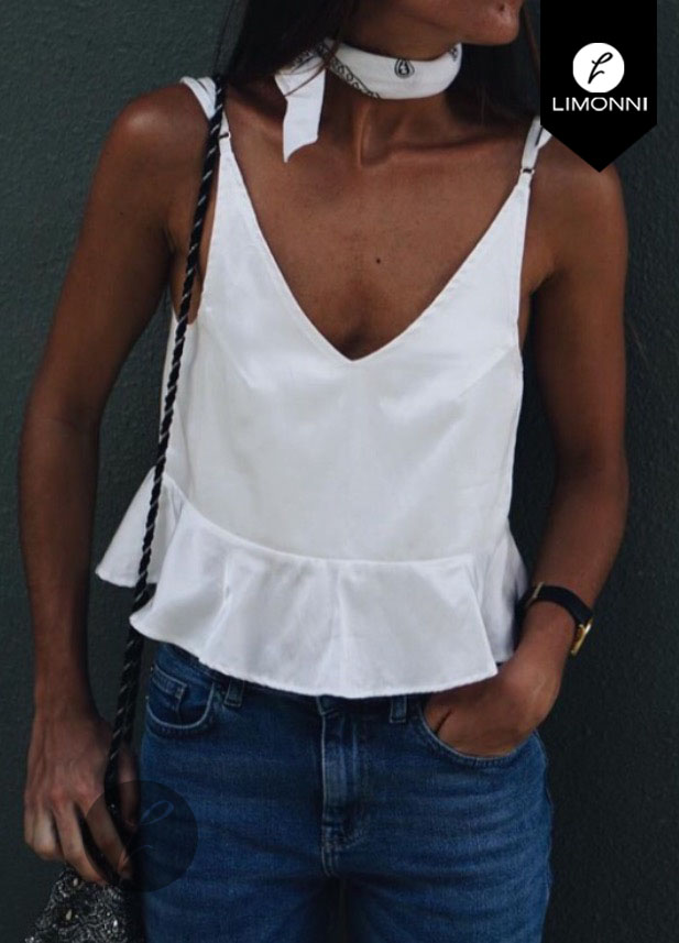 Blusas para mujer Limonni Bennett LI1156 Basicas