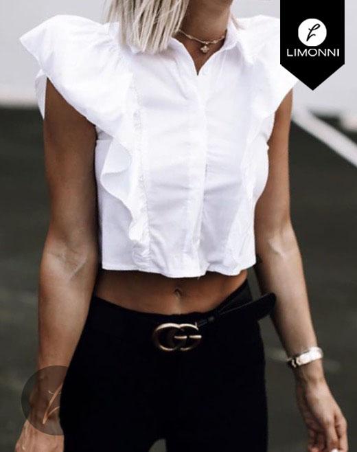 Blusas para mujer Limonni Bennett LI1157 Basicas