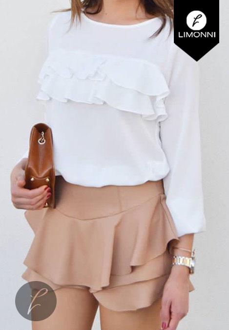 Blusas para mujer Limonni Bennett LI1160 Casuales