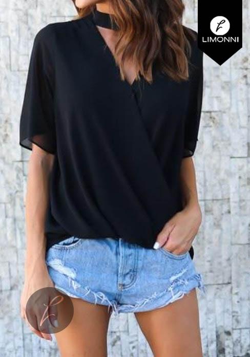 Blusas para mujer Limonni Bennett LI1187 Casuales