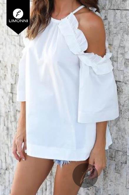 Blusas para mujer Limonni Bennett LI1188 Campesinas
