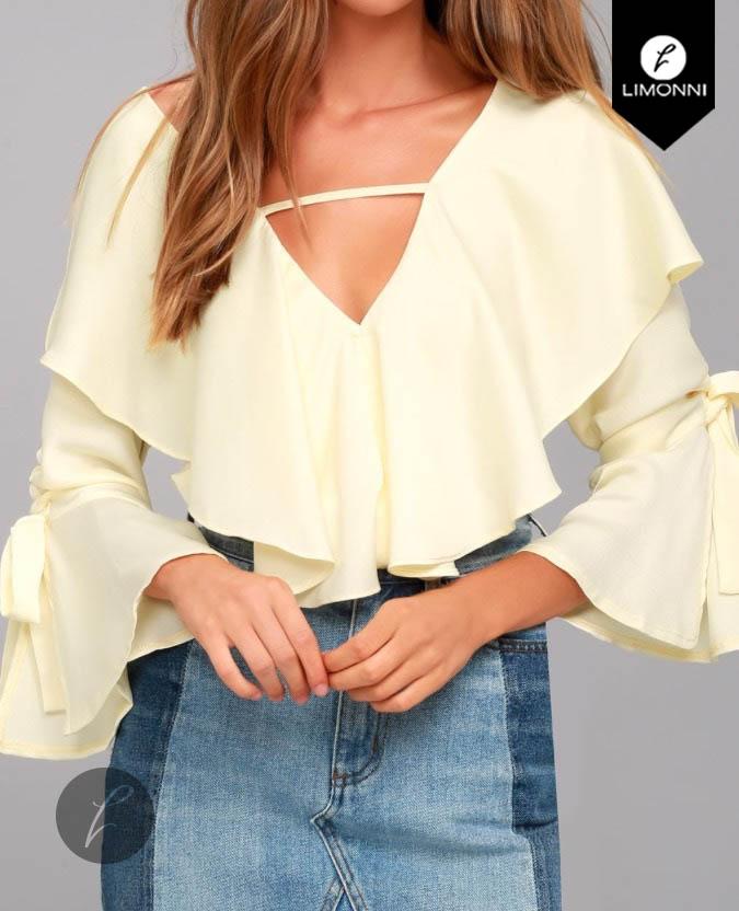 Blusas para mujer Limonni Bennett LI1190 Campesinas