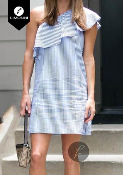 Vestidos para mujer Limonni Bennett LI1199 Cortos Casuales
