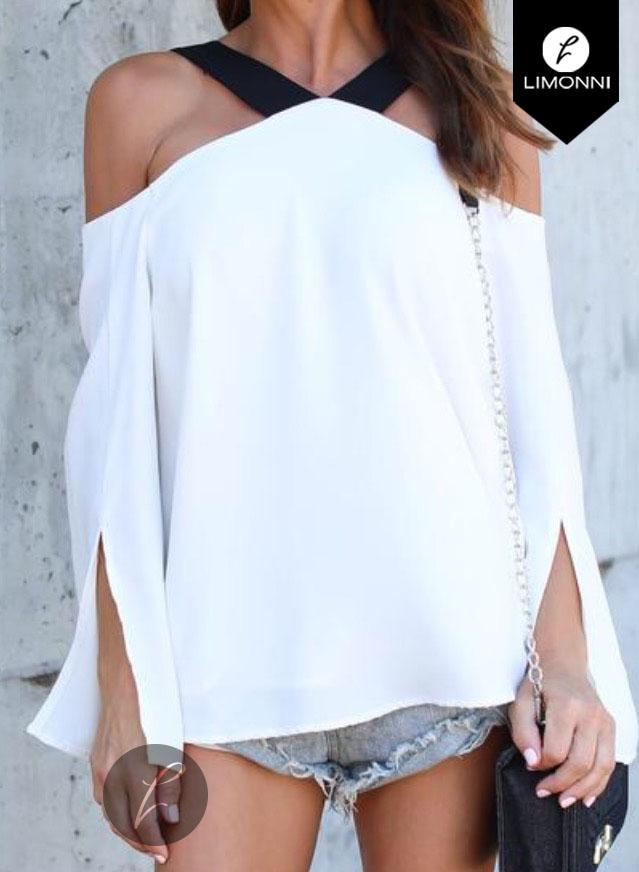 Blusas para mujer Limonni Bennett LI1203 Casuales