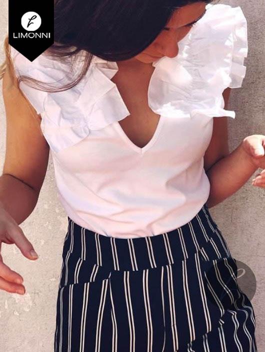 Blusas para mujer Limonni Bennett LI1214 Casuales