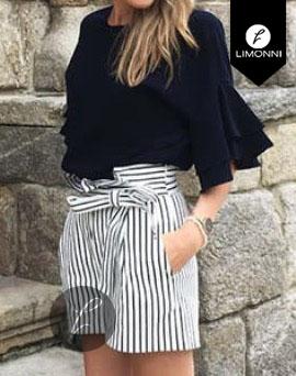 Blusas para mujer Limonni Bennett LI1220 Campesinas