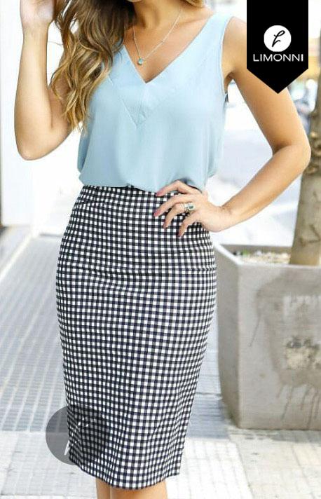 Blusas para mujer Limonni Bennett LI1222 Basicas