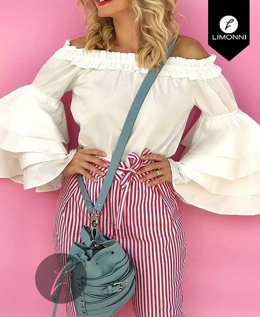Blusas para mujer Limonni Bennett LI1224 Campesinas