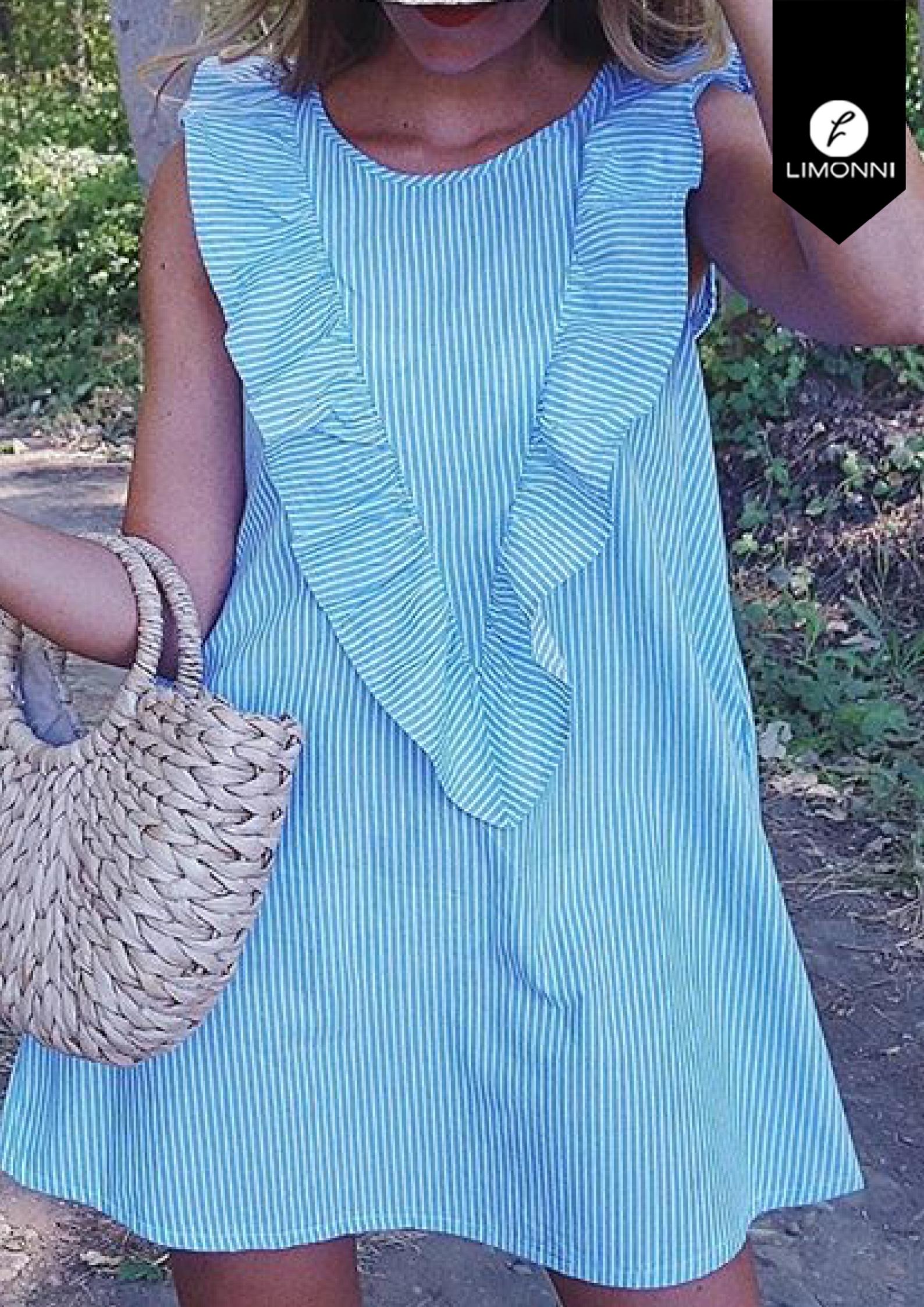 Vestidos para mujer Limonni Bennett LI1305 Cortos Casuales