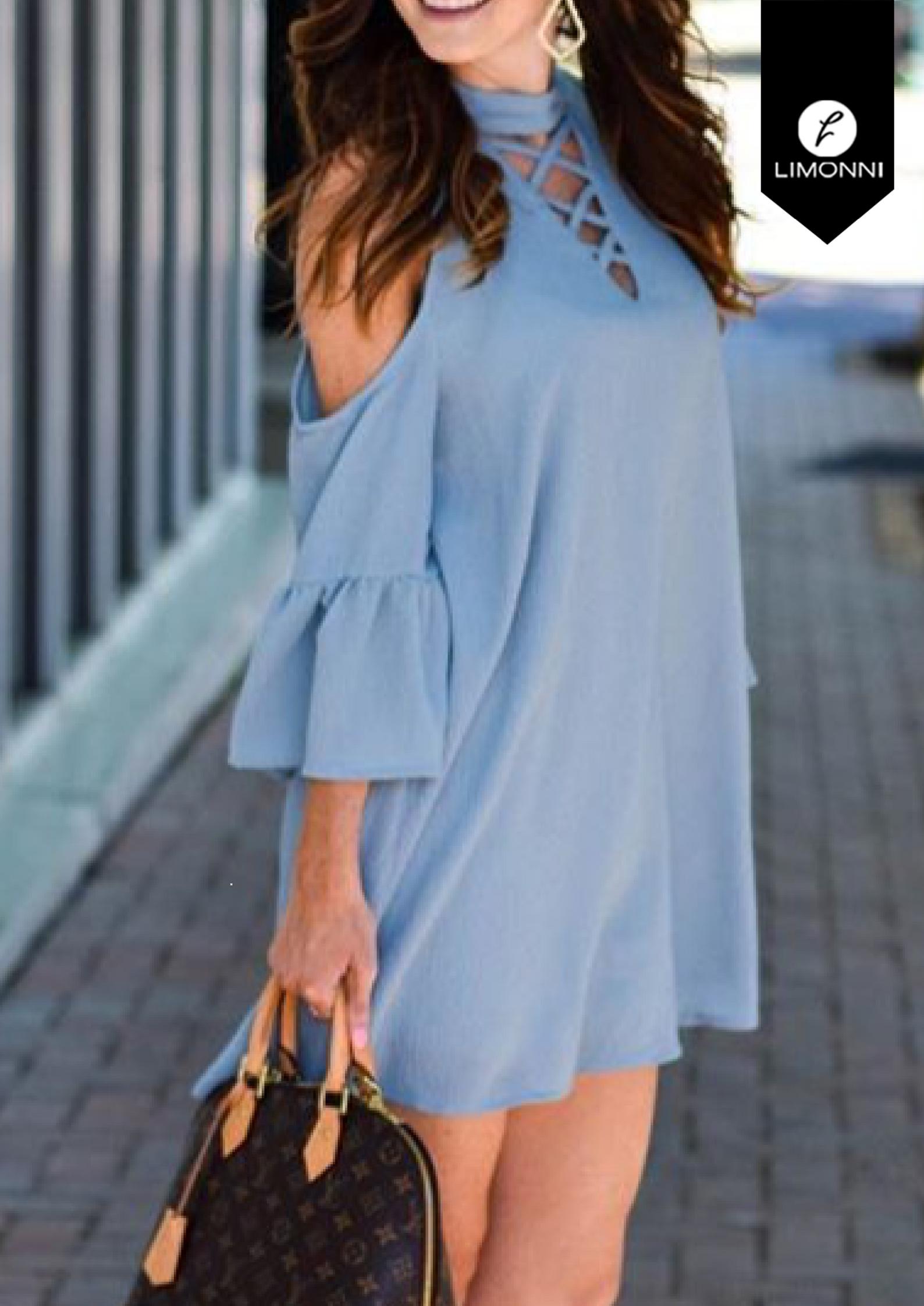 Vestidos para mujer Limonni Bennett LI1315 Cortos Casuales