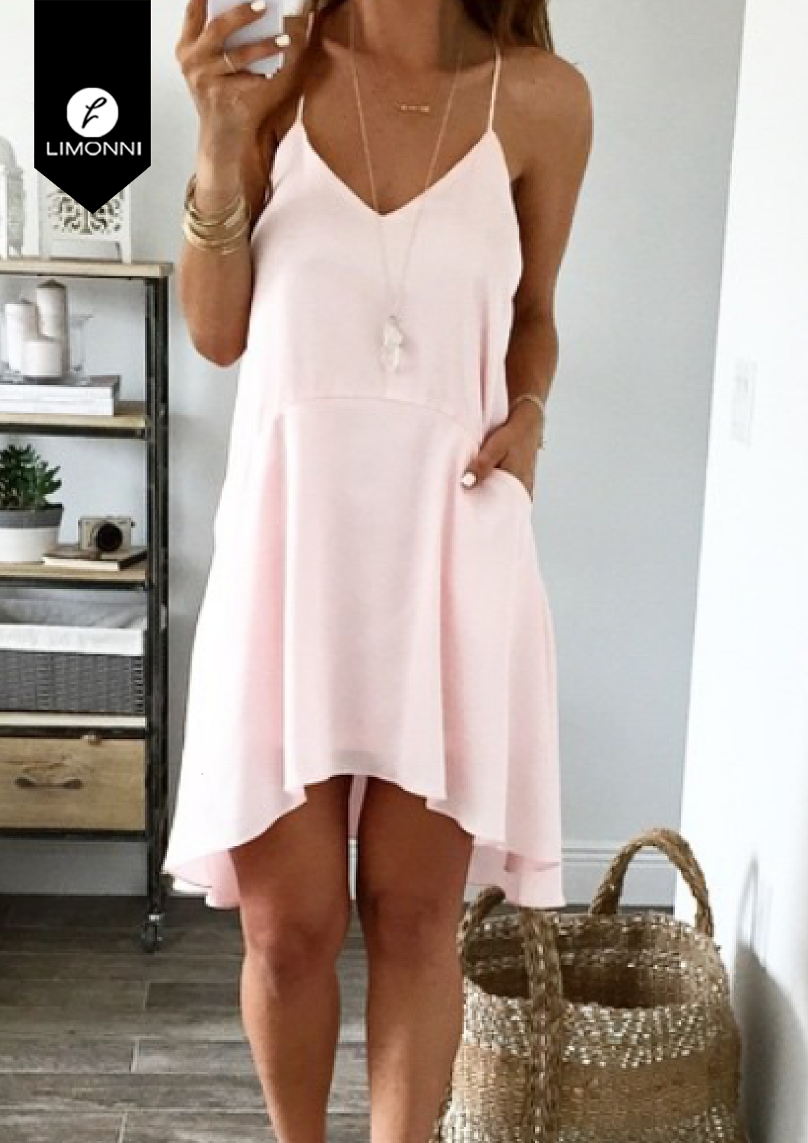 Vestidos para mujer Limonni Bennett LI1326 Cortos elegantes