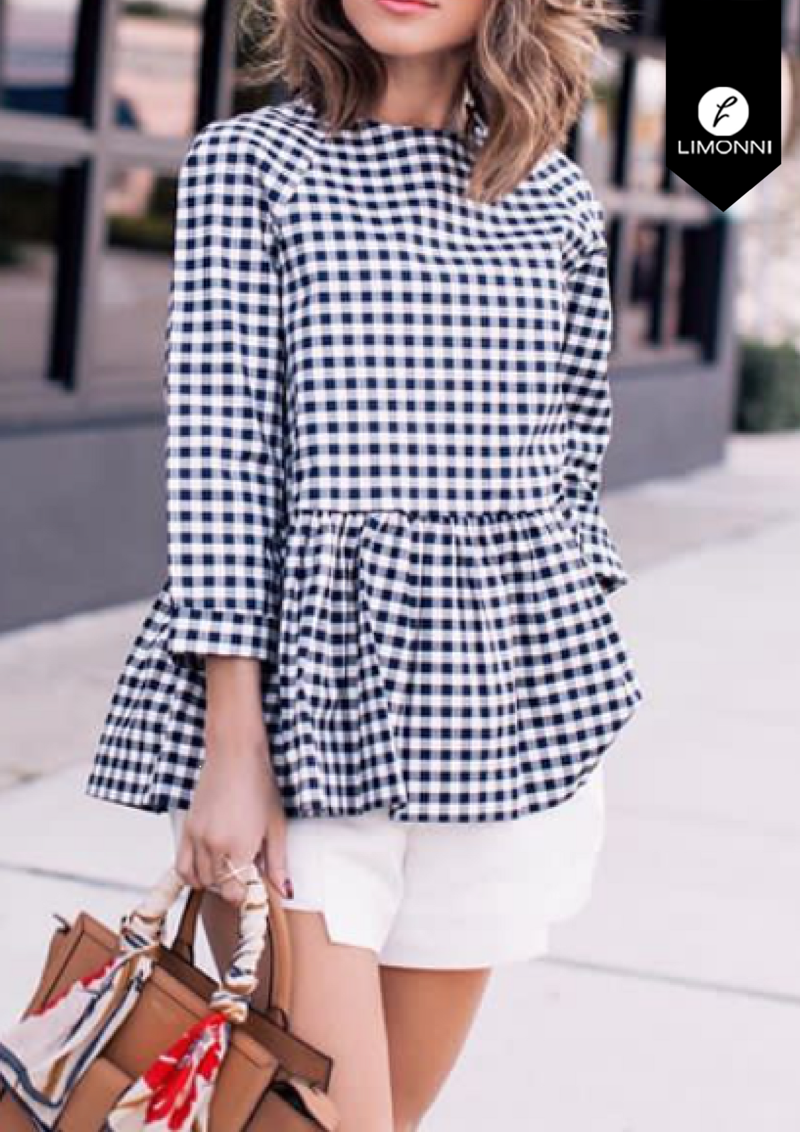 Blusas para mujer Limonni Bennett LI1327 Casuales