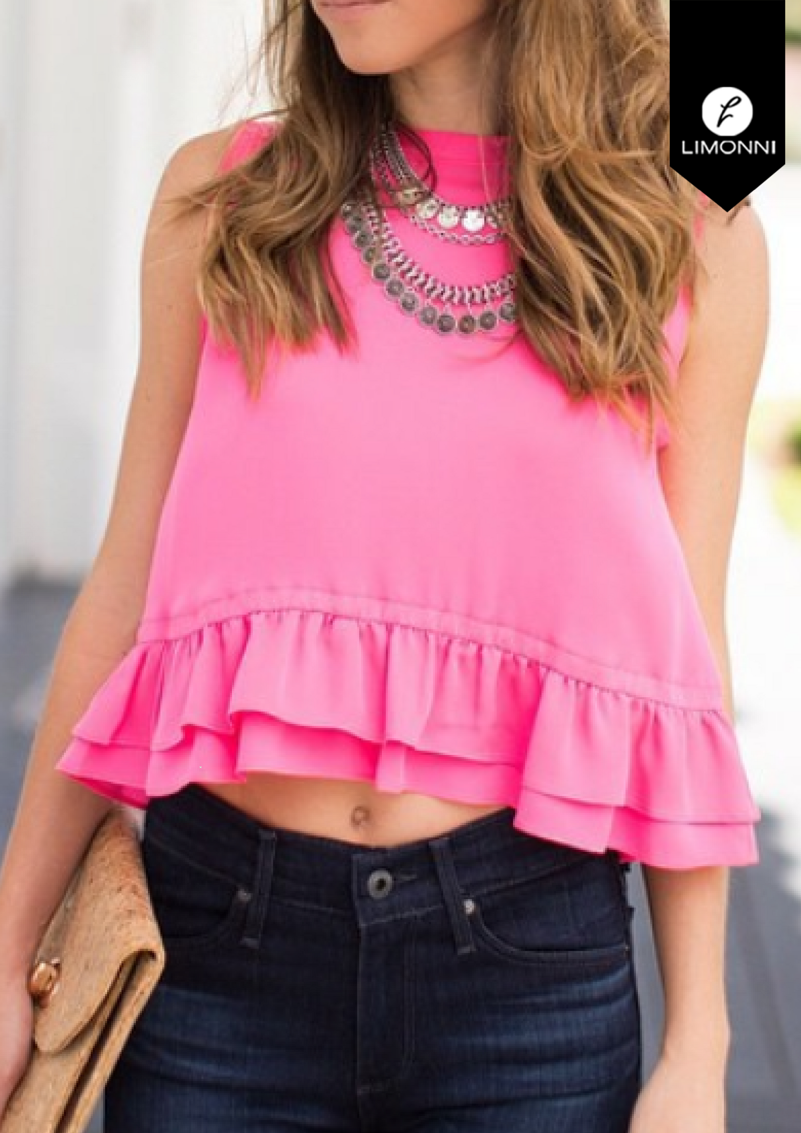 Blusas para mujer Limonni Bennett LI1329 Casuales