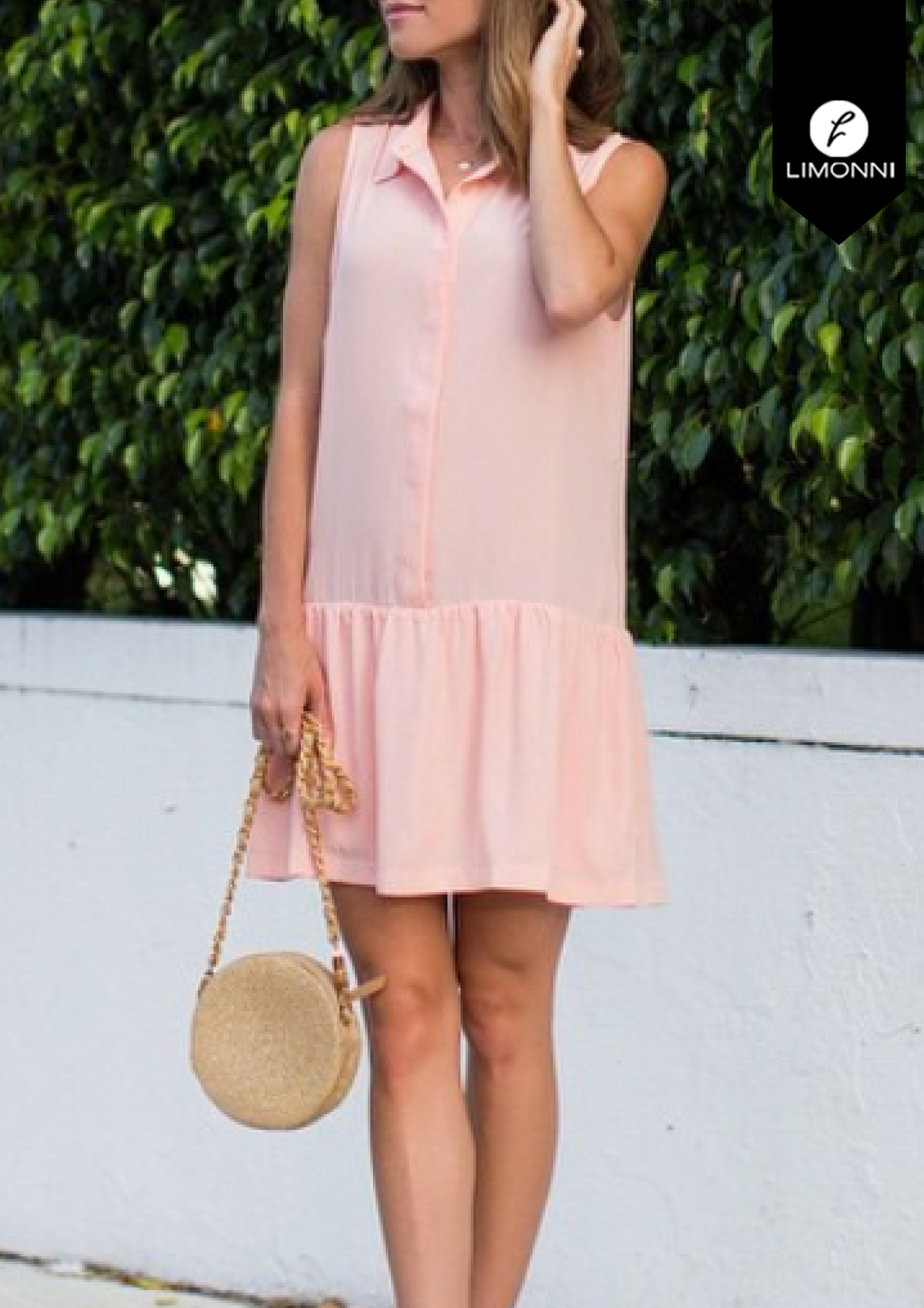 Vestidos para mujer Limonni Bennett LI1330 Cortos Casuales