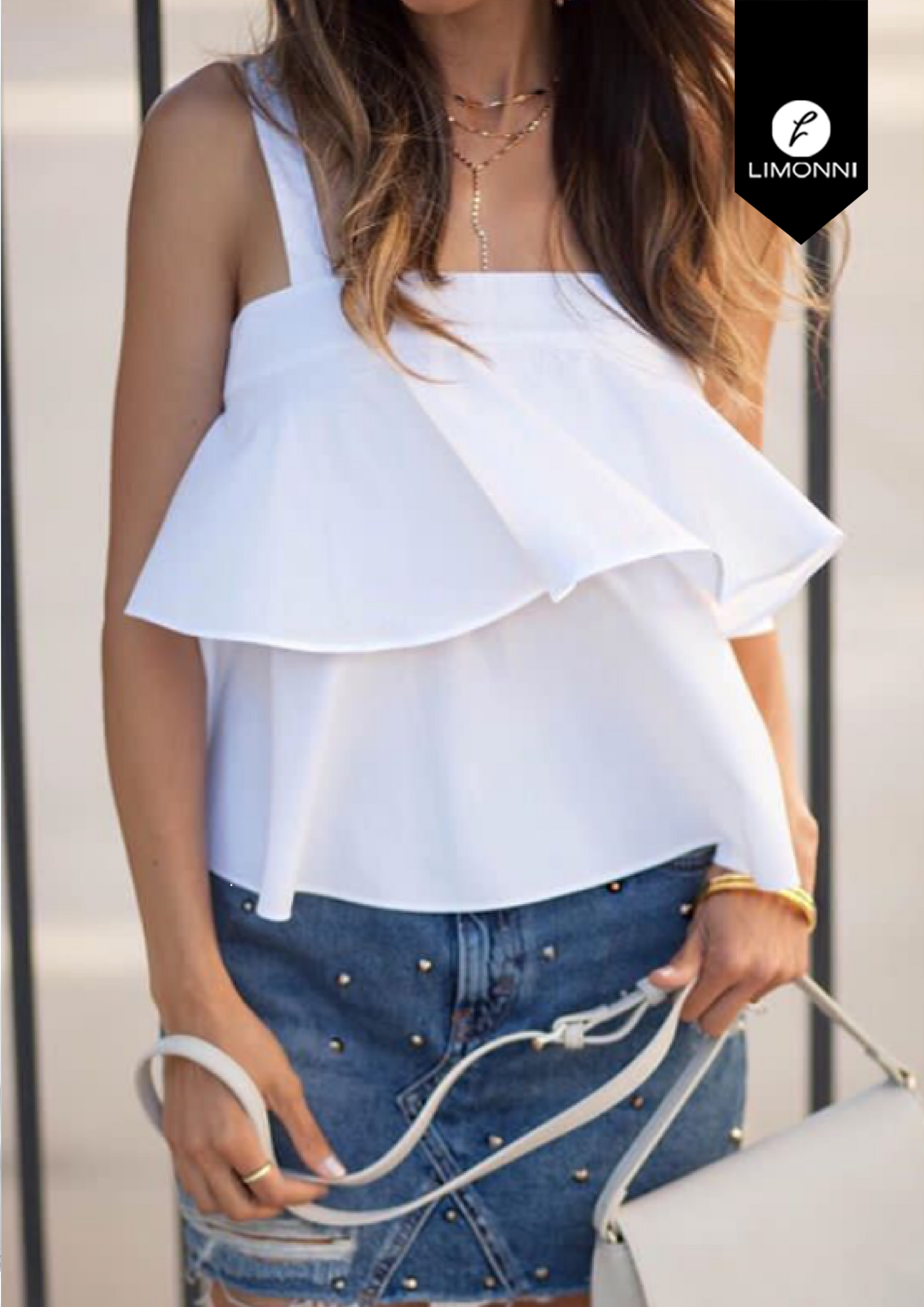 Blusas para mujer Limonni Bennett LI1341 Casuales