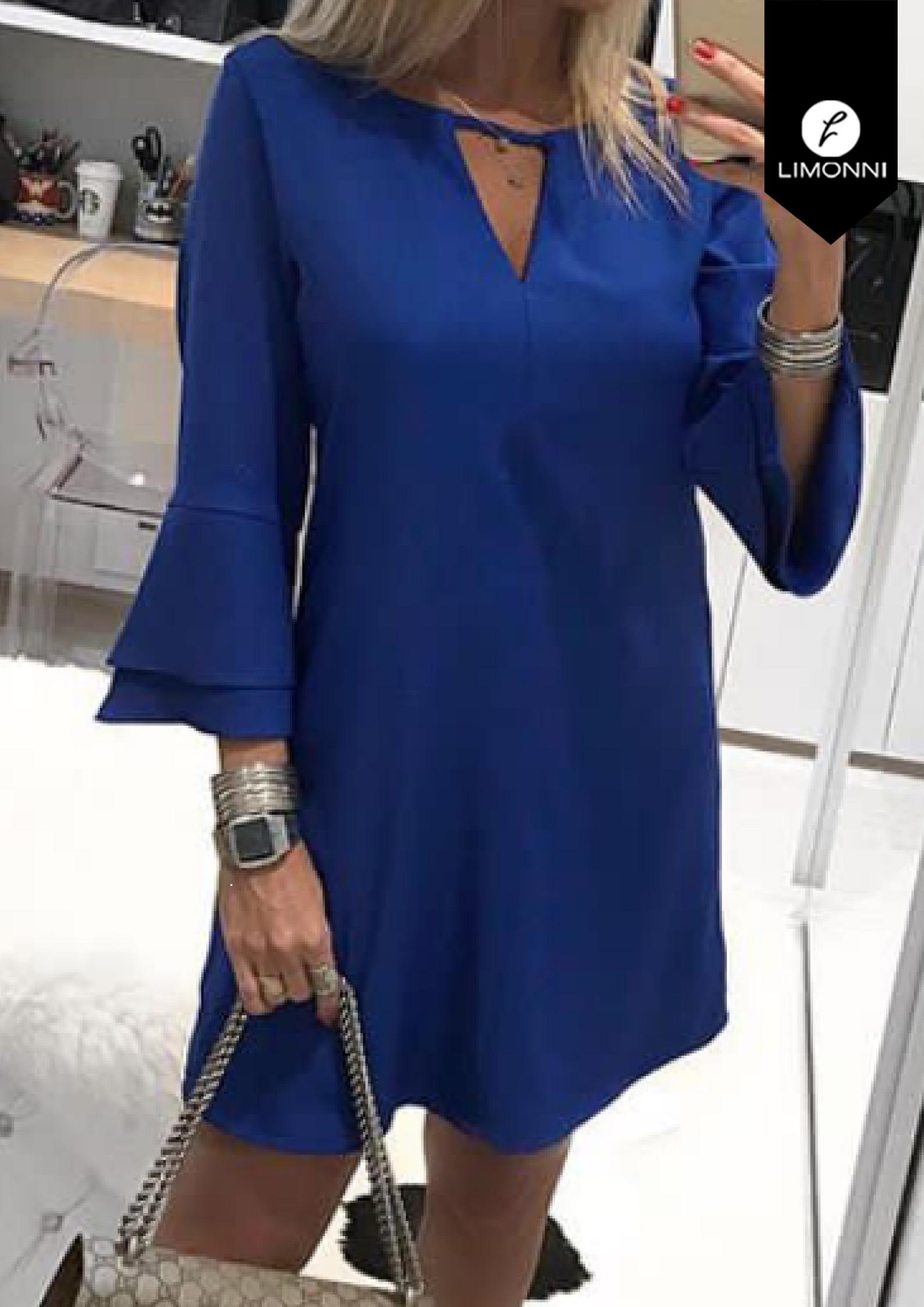 Vestidos para mujer Limonni Bennett LI1354 Cortos Casuales