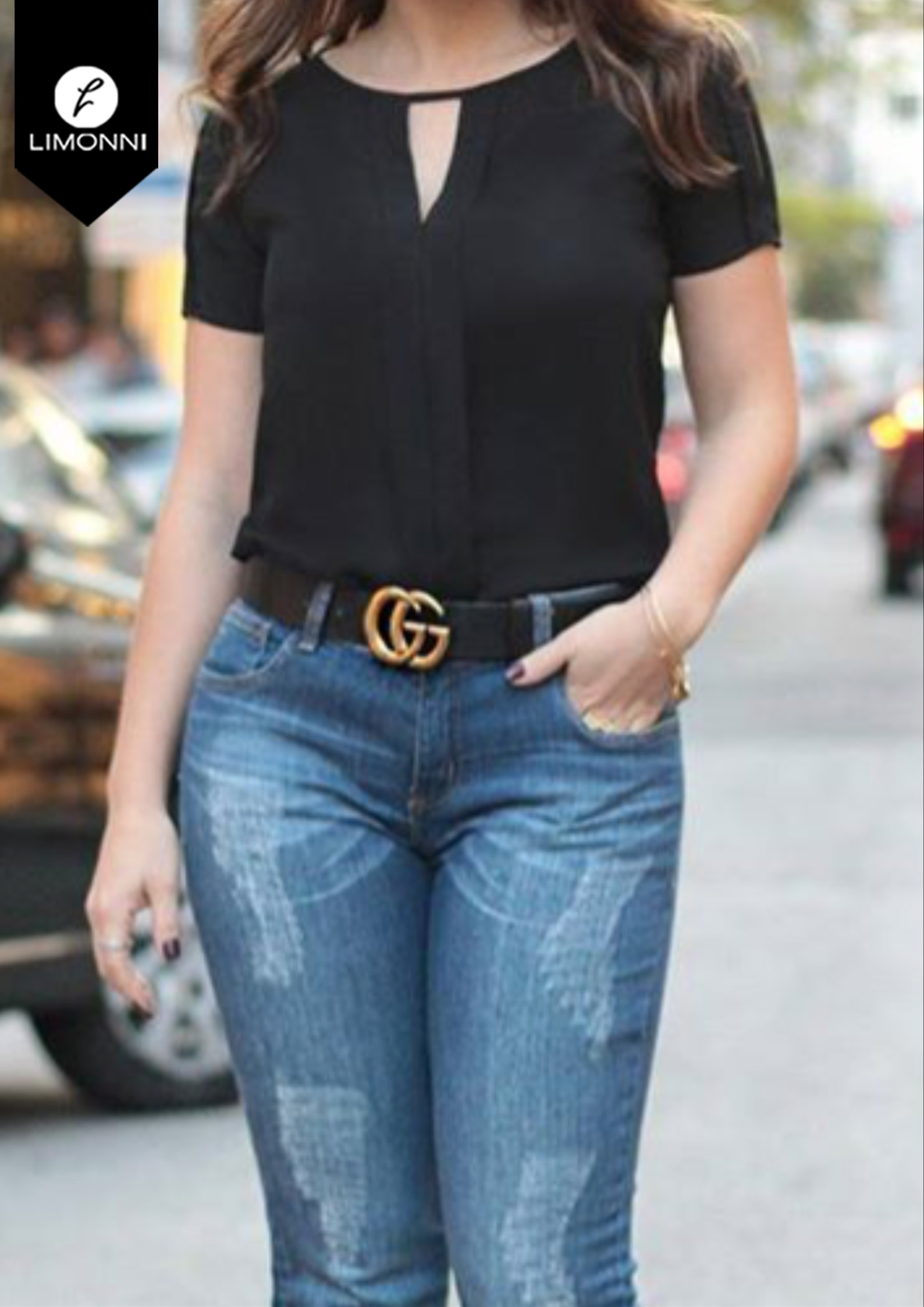 Blusas para mujer Limonni Bennett LI1362 Casuales