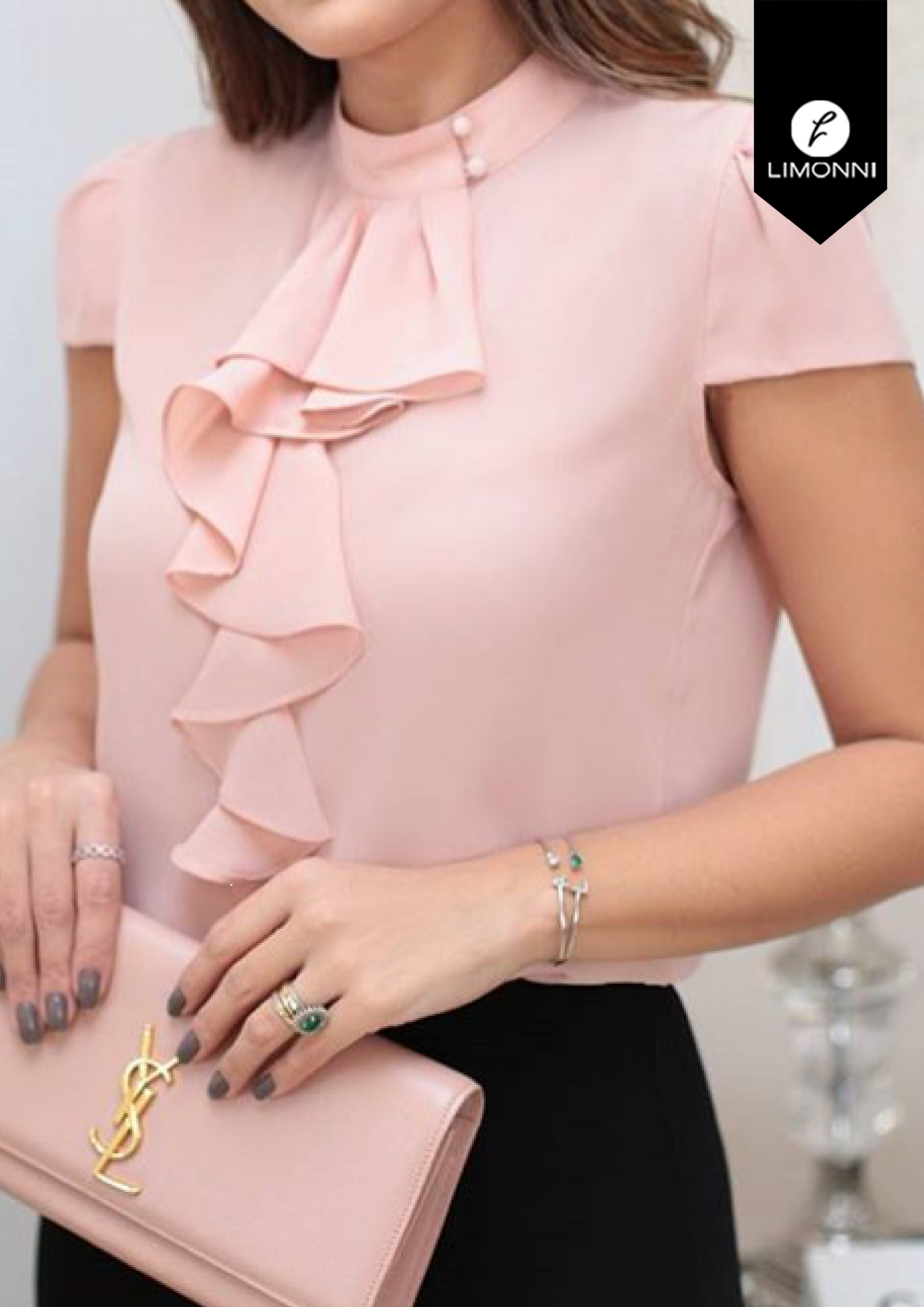 Blusas para mujer Limonni Bennett LI1370 Campesinas
