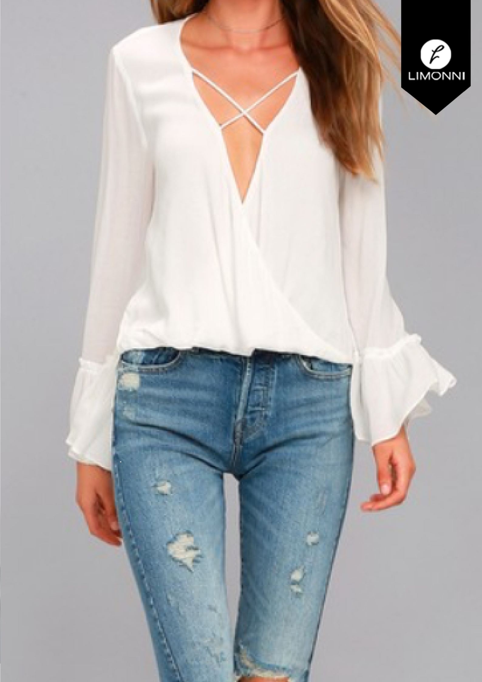 Blusas para mujer Limonni Bennett LI1376 Casuales
