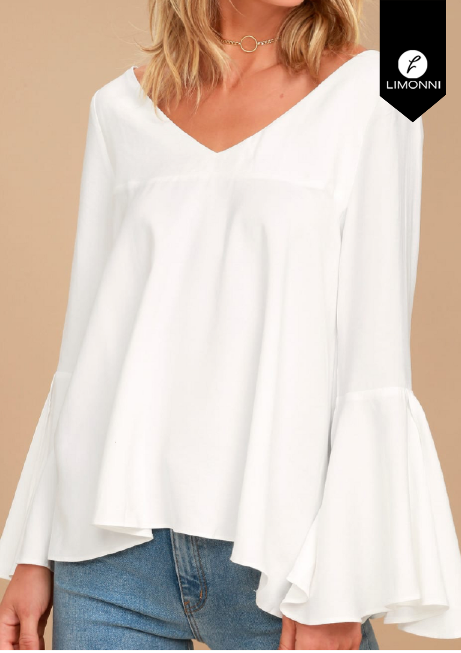 Blusas para mujer Limonni Bennett LI1386 Campesinas