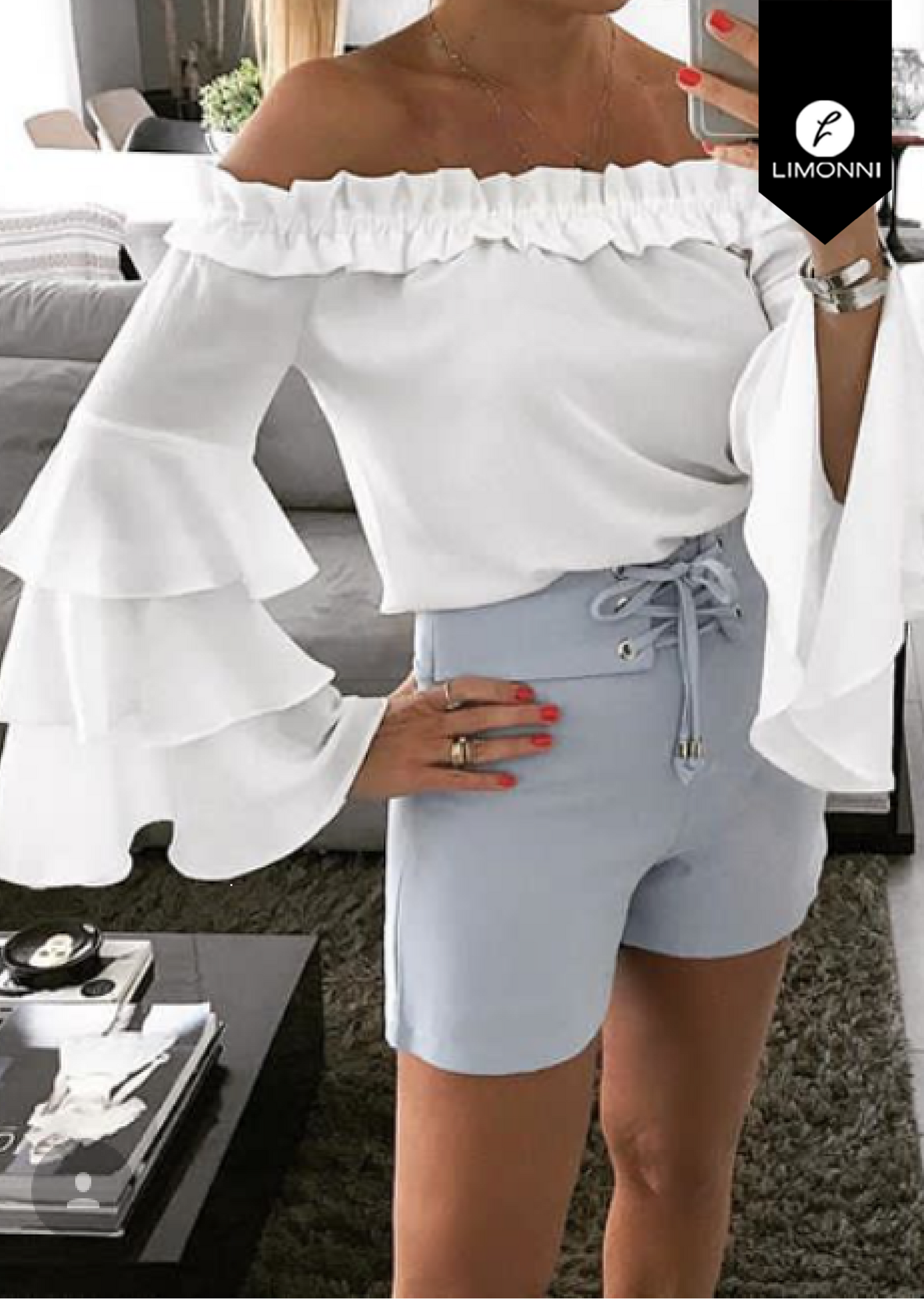 Blusas para mujer Limonni Bennett LI1396 Campesinas