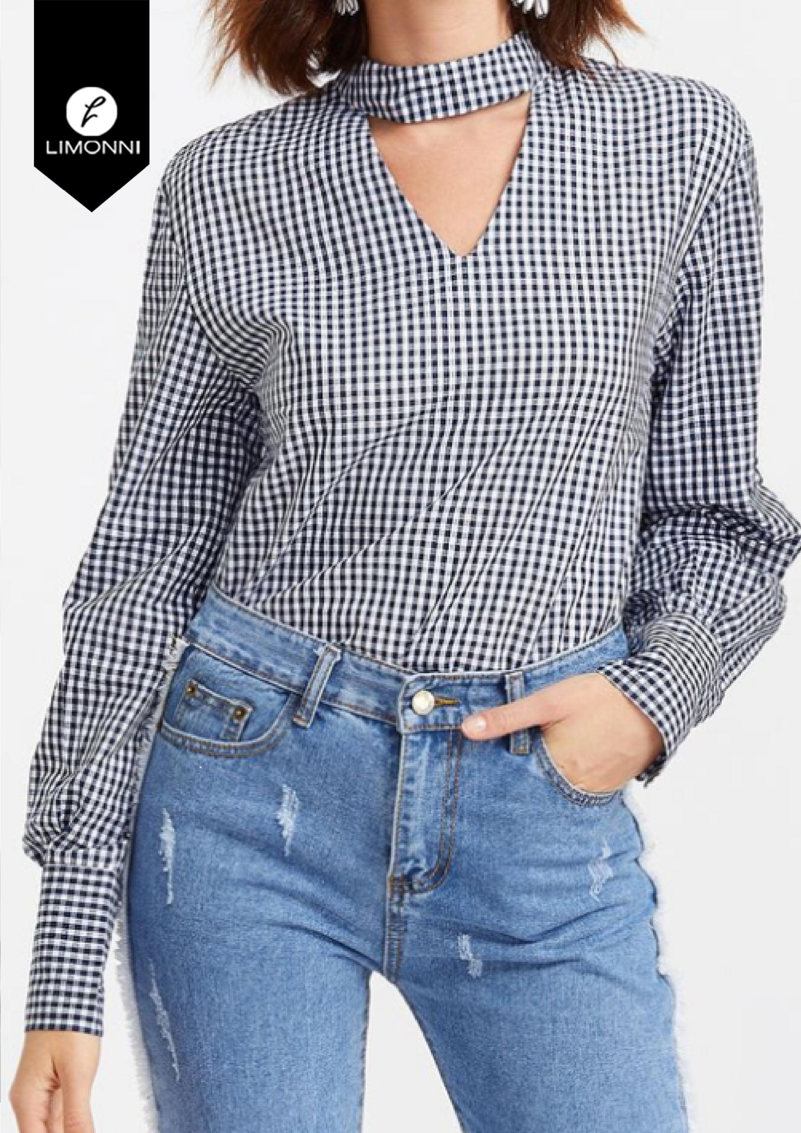 Blusas para mujer Limonni Bennett LI1405 Camiseras