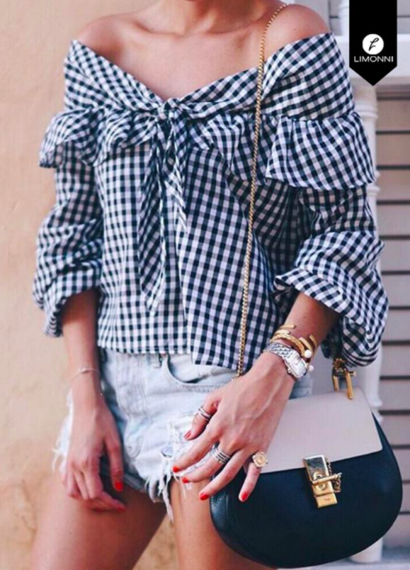 Blusas para mujer Limonni Bennett LI1413 Casuales