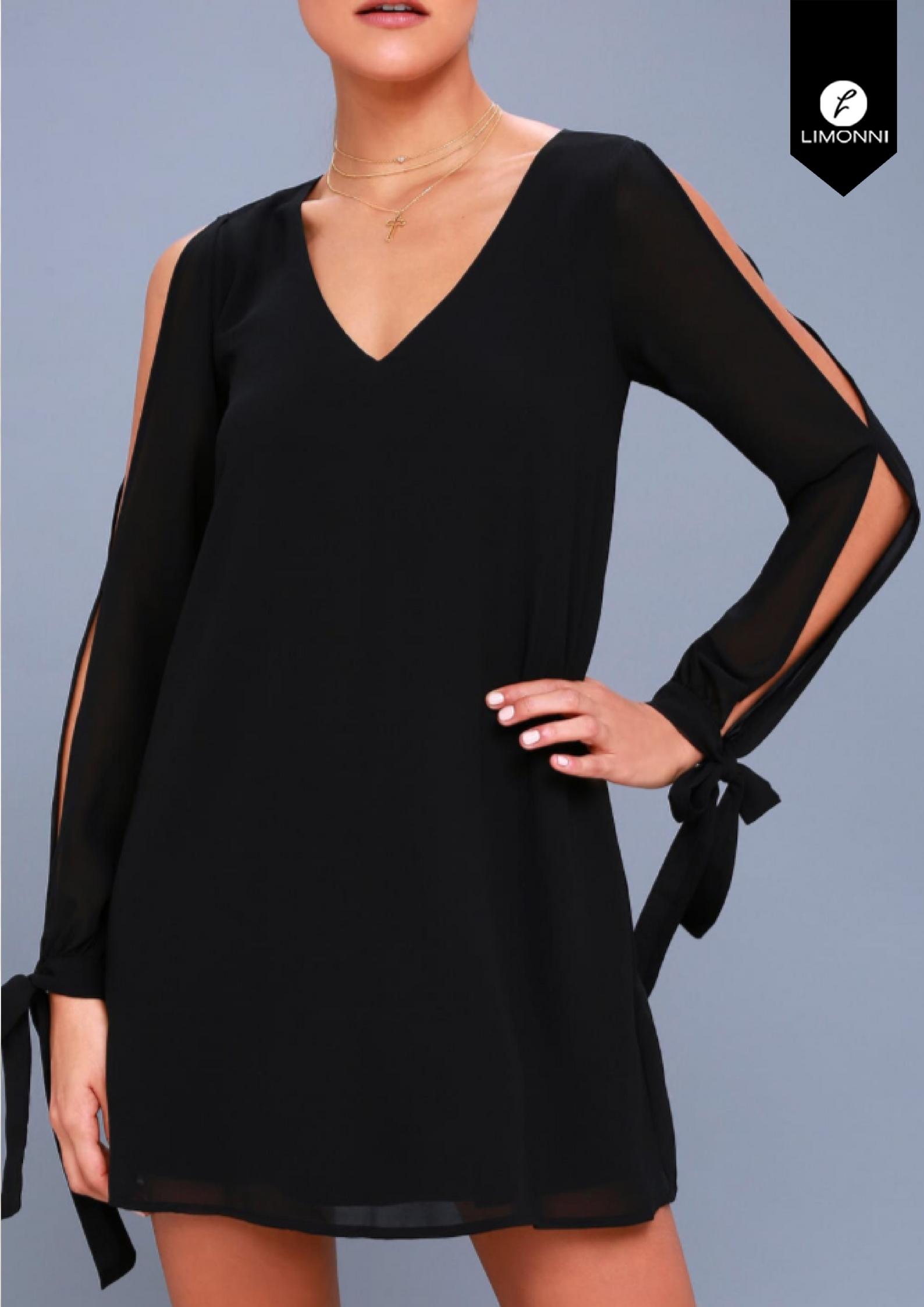 Vestidos para mujer Limonni Limonni LI1499 Cortos elegantes