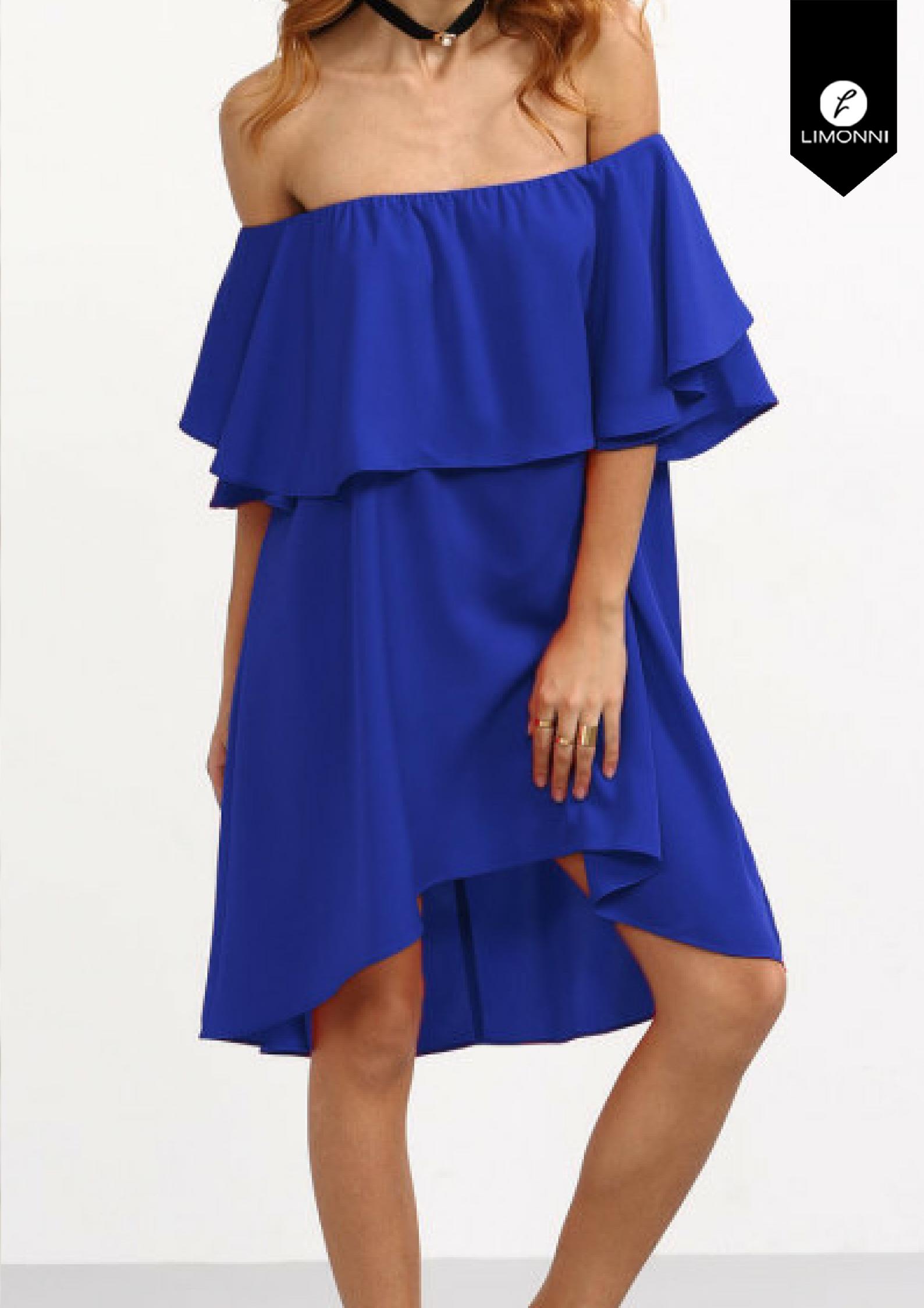 Vestidos para mujer Limonni Limonni LI1503 Cortos Casuales