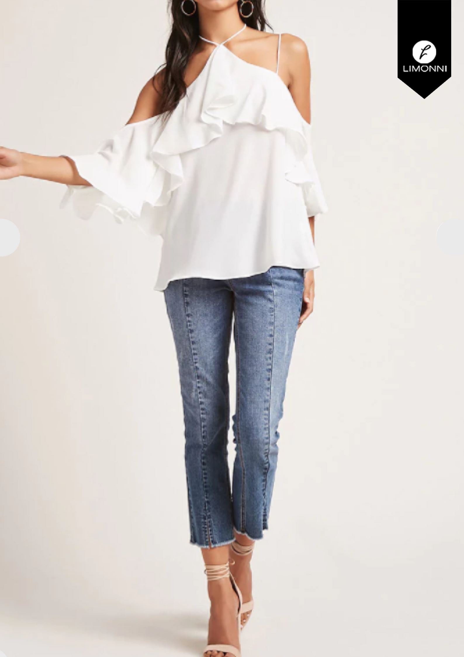 Blusas para mujer Limonni Novalee LI1546 Casuales