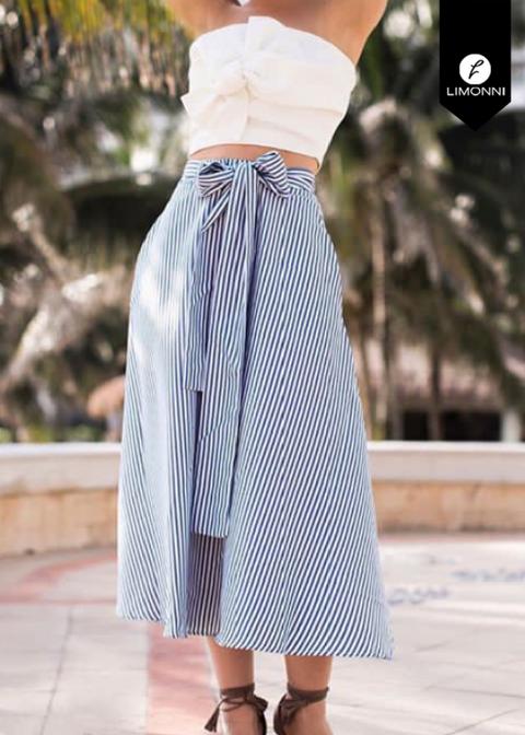 Faldas para mujer Limonni Novalee LI1592 Largos elegantes
