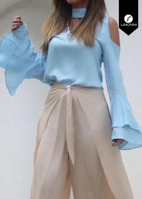 Blusas para mujer Limonni Novalee LI1594 Casuales