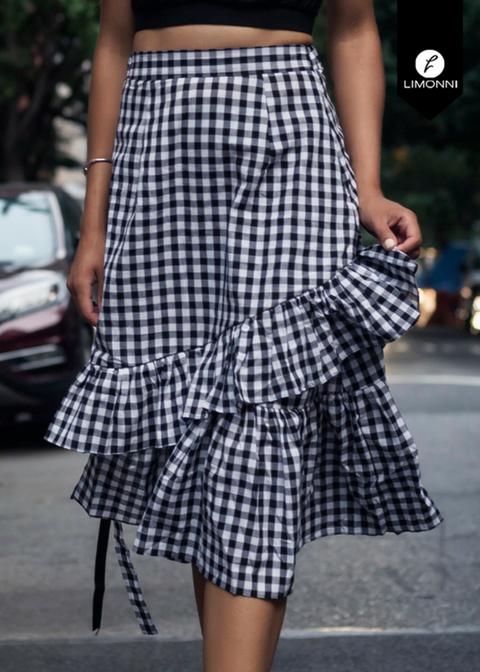 Faldas para mujer Limonni Novalee LI1595 Cortos Casuales