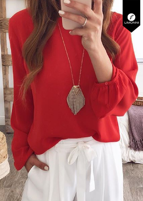 Blusas para mujer Limonni Novalee LI1607 Casuales