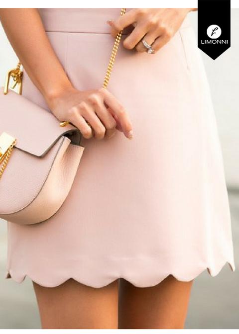 Faldas para mujer Limonni Novalee LI1612 Cortos Casuales