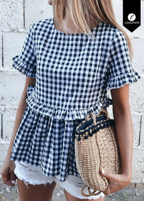 Blusas para mujer Limonni Novalee LI1620 Casuales