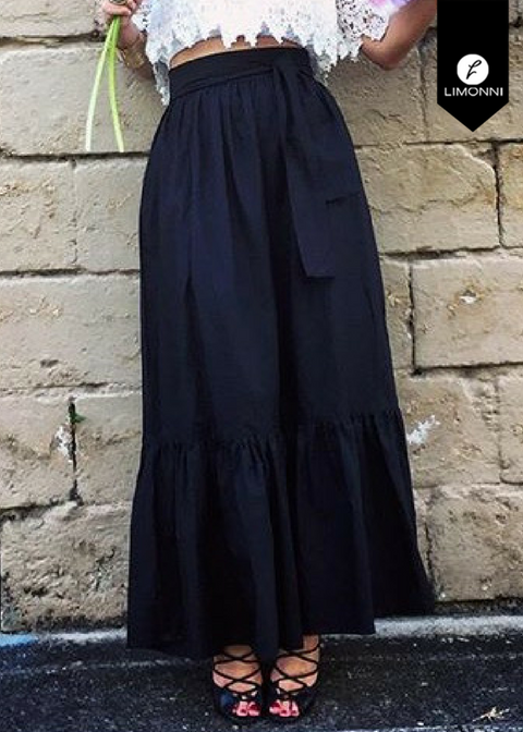 Faldas para mujer Limonni Novalee LI1626 Largos elegantes