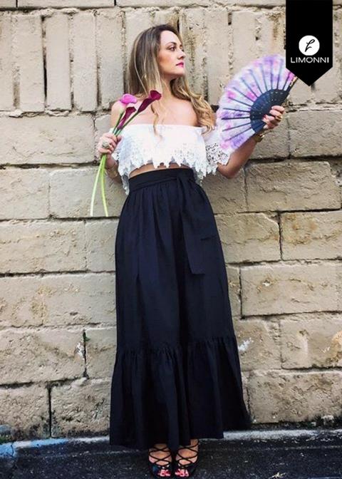Faldas para mujer Limonni Novalee LI1626 Casuales