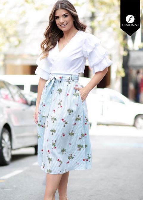Blusas para mujer Limonni Novalee LI1627 Casuales