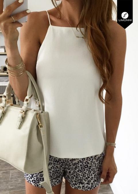 Blusas para mujer para mujer Limonni Novalee LI1653 Basicas