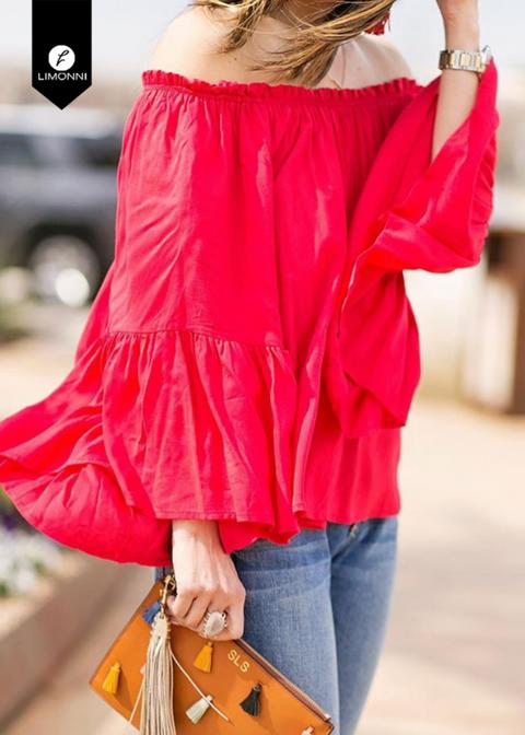 Blusas para mujer Limonni Novalee LI1663 Casuales