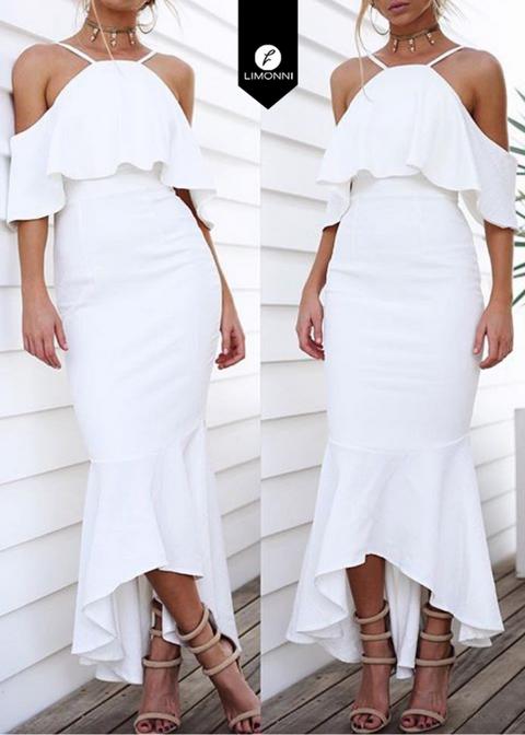 Vestidos para mujer para mujer Limonni Limonni LI1678 Maxidress