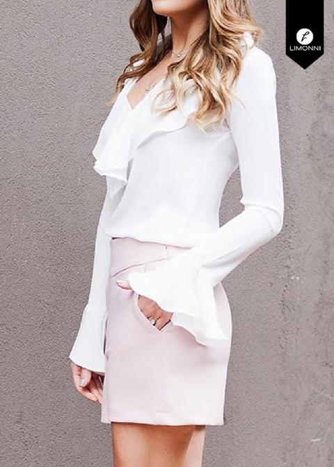 Blusas para mujer para mujer Limonni Novalee LI1681 Casuales