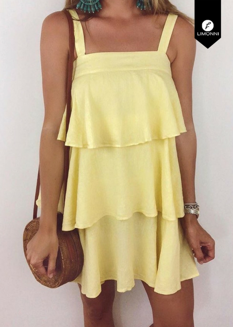 Vestidos para mujer para mujer Limonni Novalee LI1715 Cortos Casuales